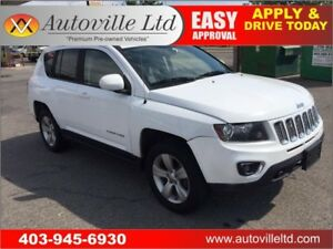 2014 JEEP COMPASS LIMITED 4X4 LEATHER ROOF BACK UP CAMERA