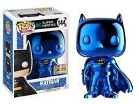 funko pop summer convention 2017 blue chrome batman super rare