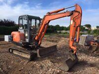 Hitachi ZX30 2006 3 Ton Tracked Excavator
