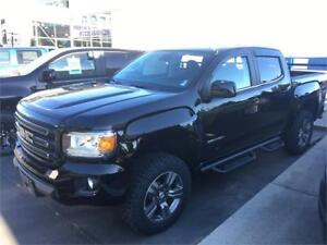 2017 GMC Canyon 4WD SLE lifted black crew cab 3.6 v6 short box