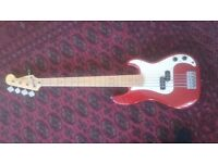 Squier precision bass 5 string