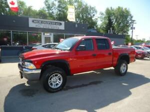 2004 Dodge Dakota SLT,4X4 ONLY $6,996 PLUS PST AND GST!!