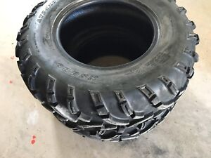 ATV tires   24 x8 x 12 and 24 x 10  12