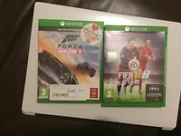 Fifa 16 and Forza Horizon 3 for Xbox one