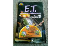 Collectors item E.T Stunt Spaceship in Original packaging. 1982! Collector's item. £15.00. Can Post.