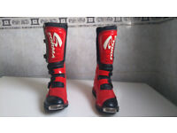 Forma MX/Enduro Motorcycle Boots EU Size 47 - UK Size 12 - Worn Once