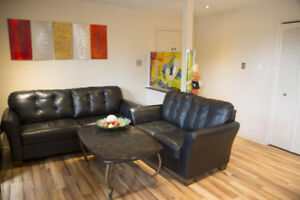 Fully Furnished 4 1/2 Condo Apartment LUX / 2 bedroom/apartement