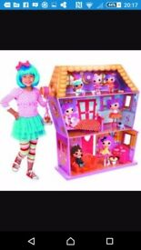 Not selling looking ### lalaloopsy sew magical house