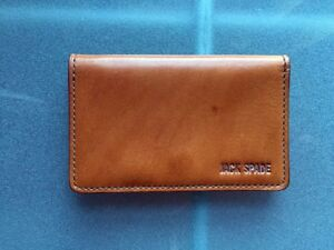 ❤️  Jack Spade Mitchell Leather Business Card Wallet ❤️