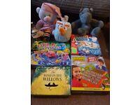 Kids games and teddys bundle