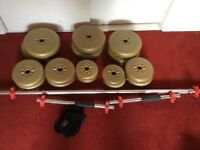 York weight set