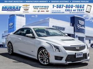 2016 Cadillac ATS-V **Low kms!  Luxury Package!**