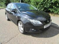 2010 SEAT IBIZA 1.6 TDI CR SPORT MANUAL DIESEL 5 DOOR HATCHBACK