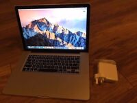 "Apple MacBook Pro 15"" 2.2ghz i7 quad core, 8gb ram, 128gb SSD, hi def screen, Radeon 6750"