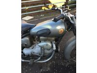 1949 SUNBEAM S8 100% ORIGINAL TRANSFERABLE REG 500cc CLASSIC
