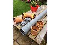 Plumbing fittings: pvc soil pipe and 110mm pvc fittings