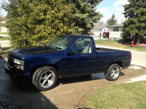 Lowered 1988 GMC 1500 LS Swap