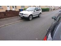 Bmw x5 with kahn alloys first good cash offer takes it swap