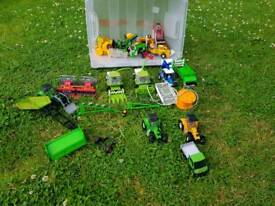 Cornwell Farm Agricultural toys and accessories, tractors, combine harvesters