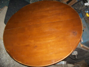 48 in   KRUG maple dining table