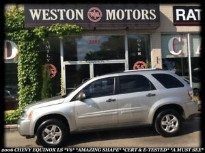 2007 Chevrolet Equinox LS *V6 *AMAZING SHAPE *CERT & E-TESTED *A