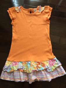 "Gymboree Girls ""Butterfly Blossoms"" Dress - Size 7"