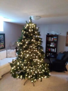 Christmas Tree 7.5 foot high - designed by Brian Gluckstein