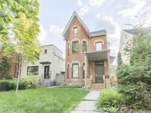 Victorian 2Bdrm Apartment for Rent in Toronto's Parkdale Village