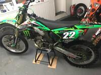 2006 kxf 250cc road registered excellent condition