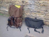 Messenger Bags (PAC sling and Tenbags backpack) HUGE 160L