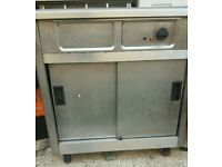 Commercial hot plate food warmer fully working with guaranty
