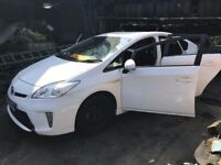 toyota prius white code is 040 breaking all parts in the stock