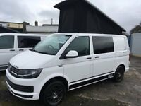2016 65 Reg Volkswagen Vw Transporter T6 102 ps Pop Top Camper Campervan Brand New Conversion
