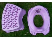 Toddler step & toilet seat
