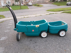 Step 2 wagon with trailer attached!