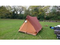 Retro Tent Ideal for Festivals (3-4man)