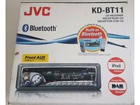 JVC KD-BT11 CD / MP3 player with Bluetooth 4x50w fully boxed with all original items - £40 ONO
