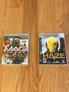 Assorted Wii and PS3 Games