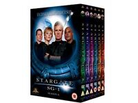 Stargate sg1 complete series box sets in mint condition