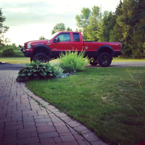Lifted Ford F-250 6.0l
