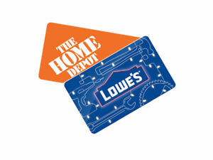 Buying Home Depot and Lowe's Gift Cards or Store Credit!