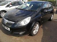 2008 Vauxhall Corsa 1.2i 16vSXi 5Dr in Black 79K Aircon Low Ins Immaculate Condi
