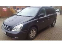 57 Reg KIA SEDONA 2.9 CRDi GS 7 seater only 83000 miles NEW MOT