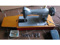 jones foreign electric sewing machine