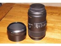 Sigma 105mm Macro lens.