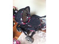 3 in 1 pushchair O.N.O