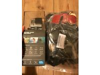 Gopro hero 4, accessories & 32 GB card