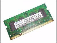 SAMSUNG 2GB DDR2 LAPTOP MEMORY