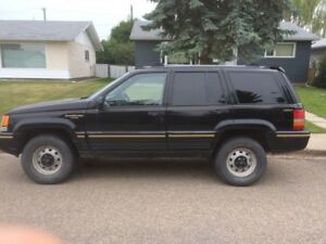 1995 jeep grand cherokee , limited edtion