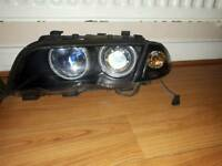 Bmw xenon angel eyes headlights
